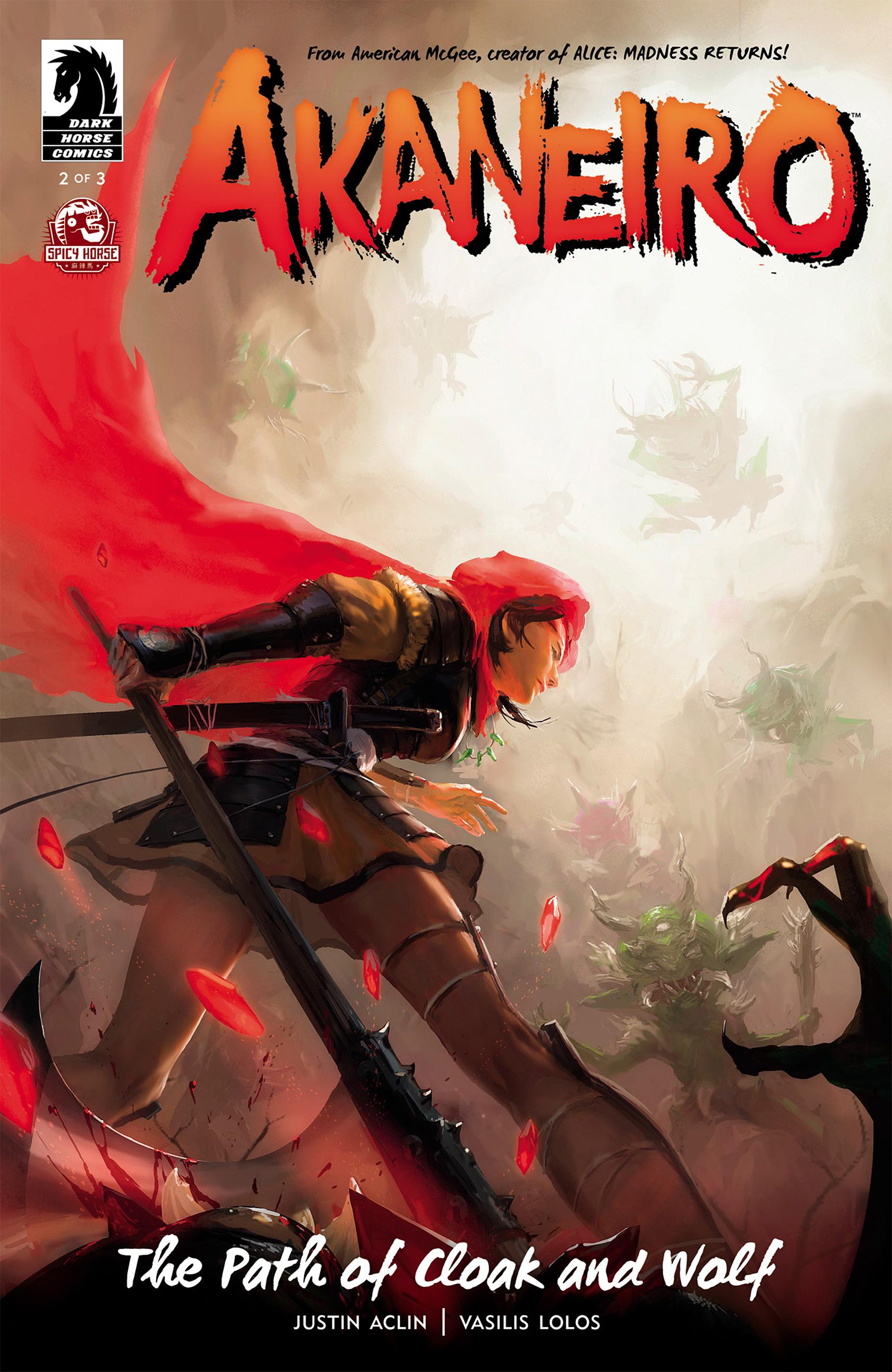 Read online Akaneiro comic -  Issue #2 - 1