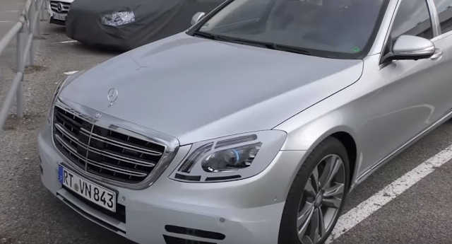 2018 Mercedes-Maybach S-Class Facelift Spied Trying to Conceal Its Opulence Exterior