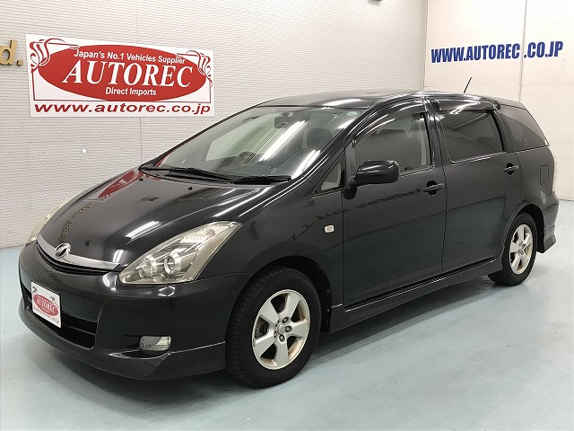 2007 Toyota Wish To Durban For Lesotho Pretoria Swaziland Japanese Vehicles To The World