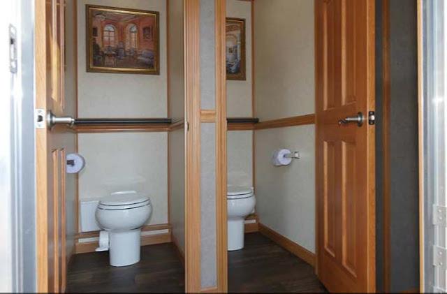 Roomy Bathroom Stalls
