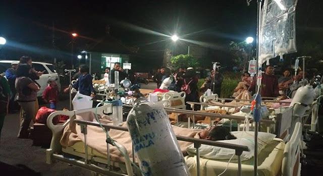 Timbul Kepanikan! Diguncang Gempa 7.0 di Lombok