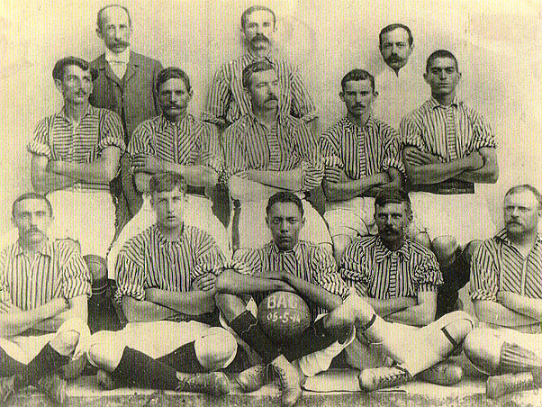 Francisco Carregal. Bangu Atlético Clube was formed in 1904 by employees of  the Companhia Progresso Industrial do Brasil Textiles Factory in Bangu 313ac2160642c