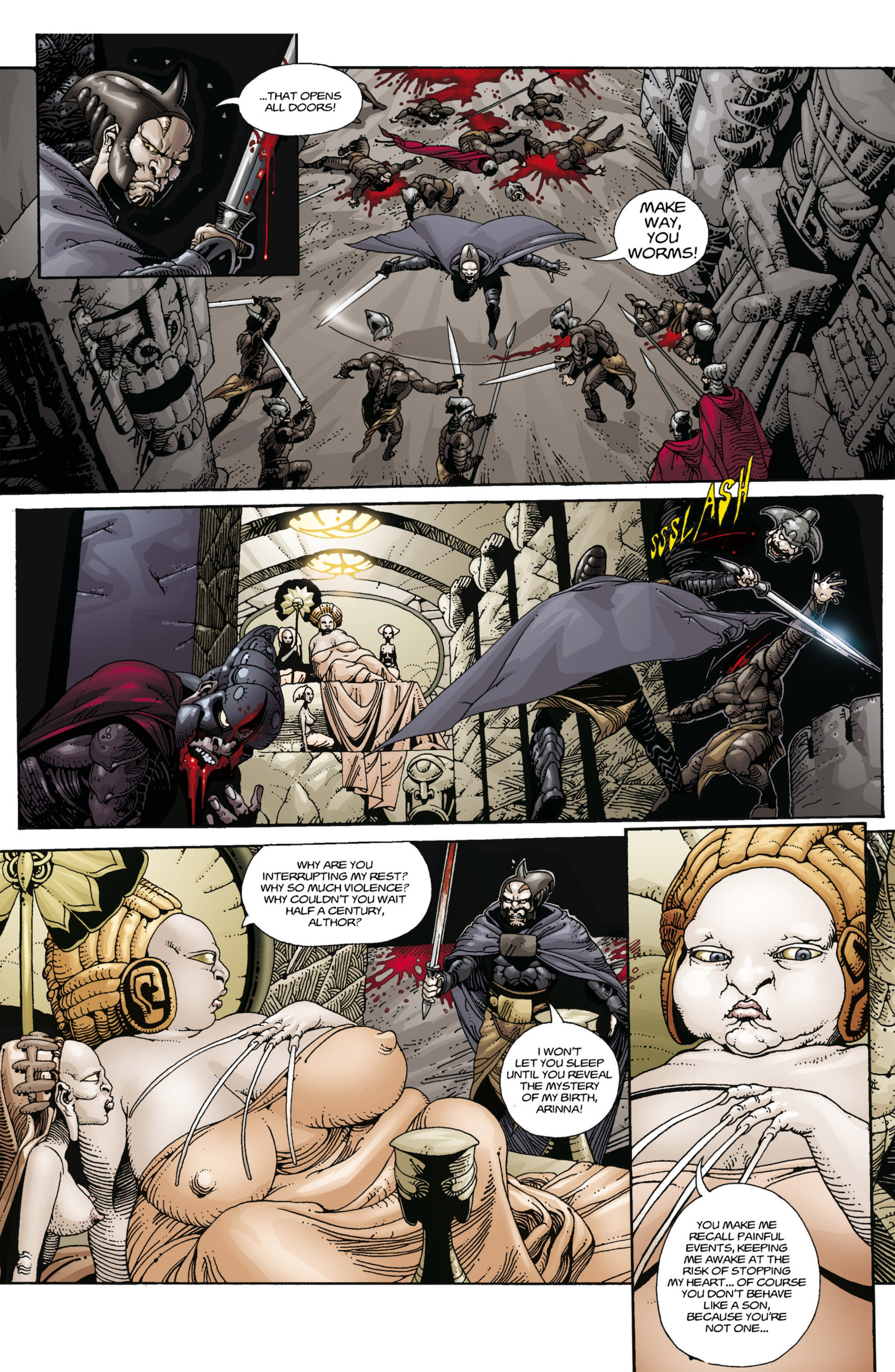 Read online Alejandro Jodorowsky's Screaming Planet comic -  Issue #1 - 13