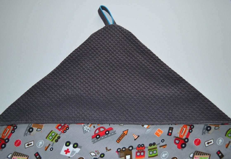 Uitzonderlijk Stipjes en datjes: Tutorial XL baby omslagdoek met wafelkatoen en  IY87