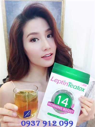 Cùng Diễm My sử dụng trà giảm cân Leptin Teatox