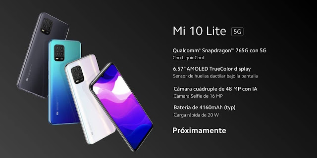 XIAOMI MI 10 LITE ANNOUNCED WITH SNAPDRAGON 765G (5G) FOR €350