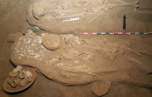 Ancient Egyptian gold workers' tomb excavated in northern Sudan