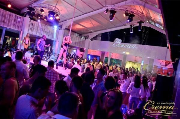 Crema Summer Club din Mamaia