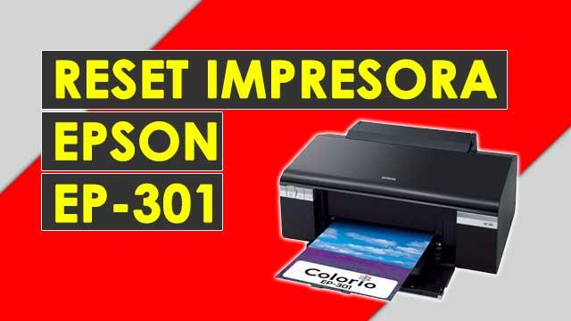 resetear almohadillas impresora Epson EP301