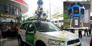 mobil google maps / google street