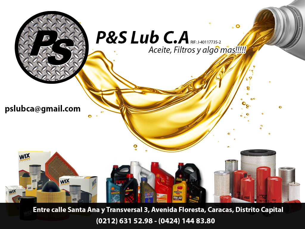 P&S LUB C.A en Paginas Amarillas tu guia Comercial