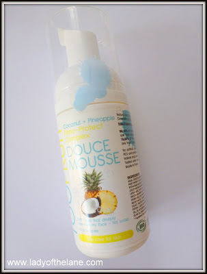 TooFruit Douce Mousse Cleanser for Kids