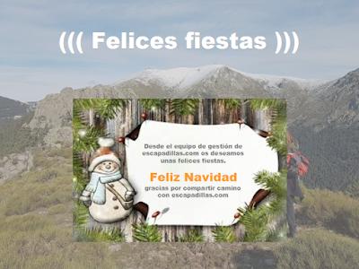 Feliz Navidad desde - escapadillas.com