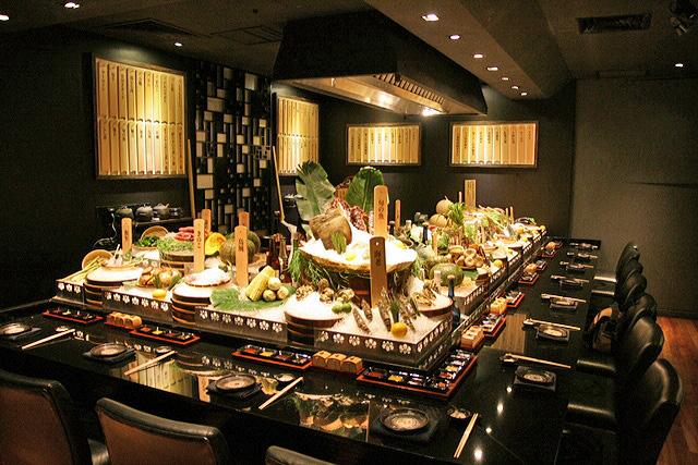 Winter robata at mikuni japanese restaurant fairmont for Asian cuisine singapore
