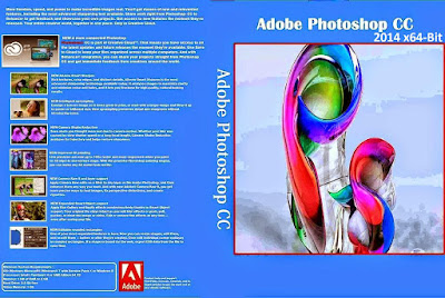 Adobe Photoshop CC 2014 x64-Bit DVD Capa