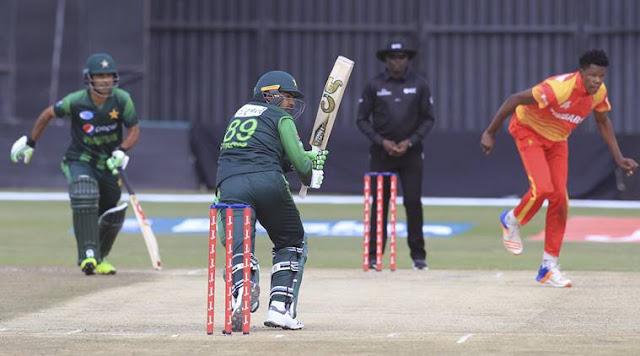 Pakistan VS Zimbabwe Live Cricket Score -1st ODI Live Streaming