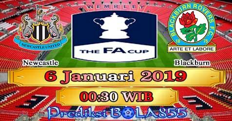 Prediksi Bola855 Newcastle vs Blackburn 6 Januari 2019