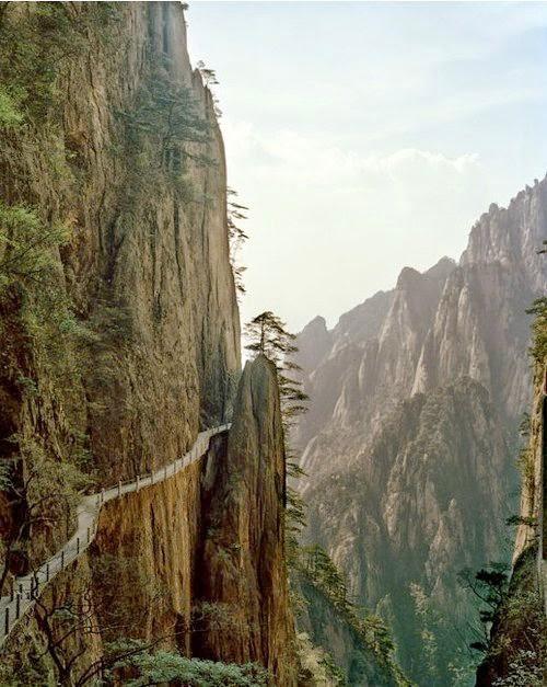 pegunungan,jurang,terjal,alam