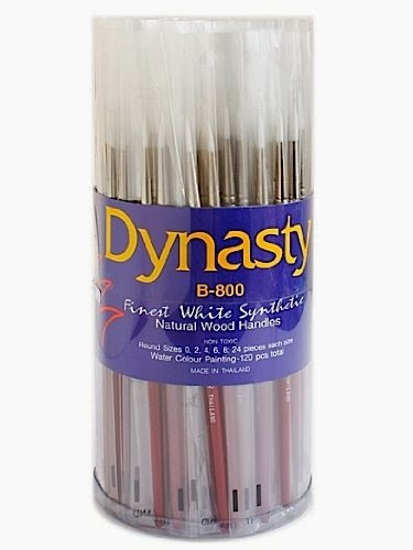 Dynasty Blog Paint Brush Canisters