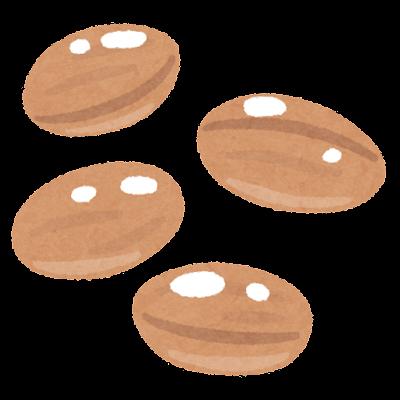 ゆでピーナッツのイラスト
