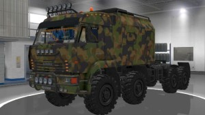 Kamaz 43-63-65 Offroad truck mod
