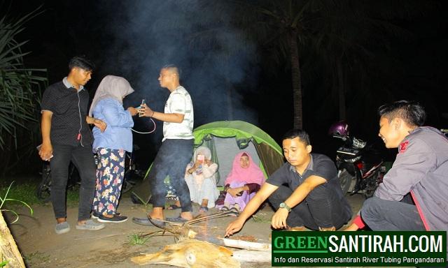 Paket Camping di Pantai Madasari Pangandaran