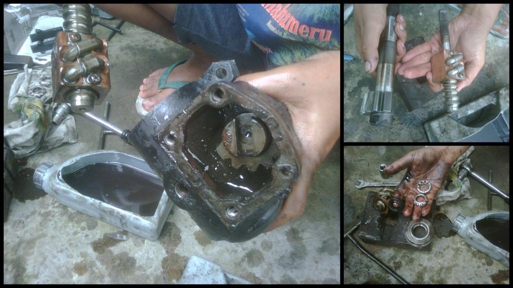 DIY  wawan5161 Bongkar steering gearbox SJ41085