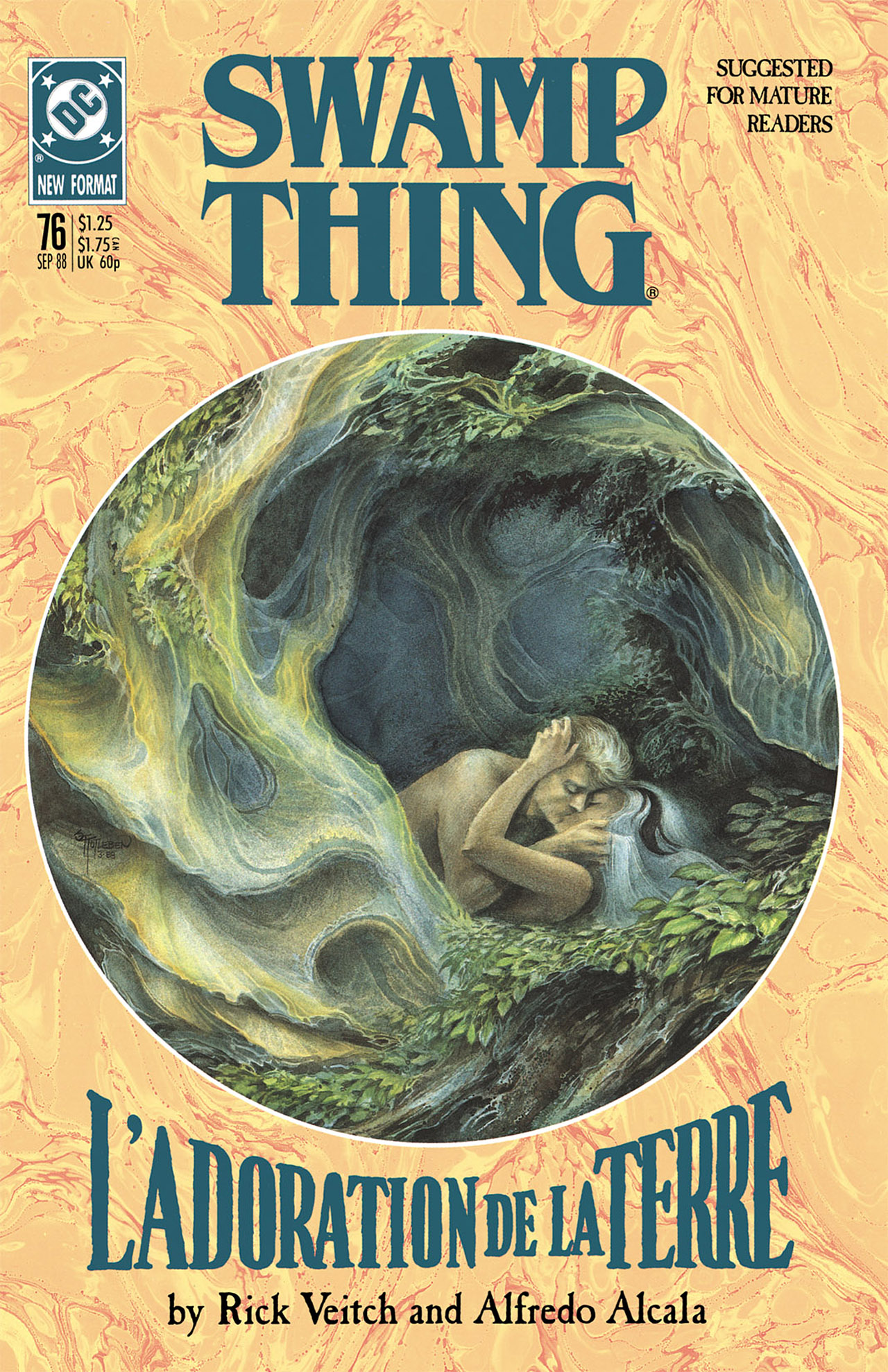 Swamp Thing (1982) Issue #76 #84 - English 1