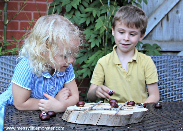 backyard games for kids - diy tic tac toe