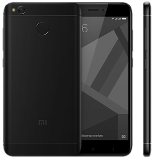 Xiaomi Redmi 4x Matte Black