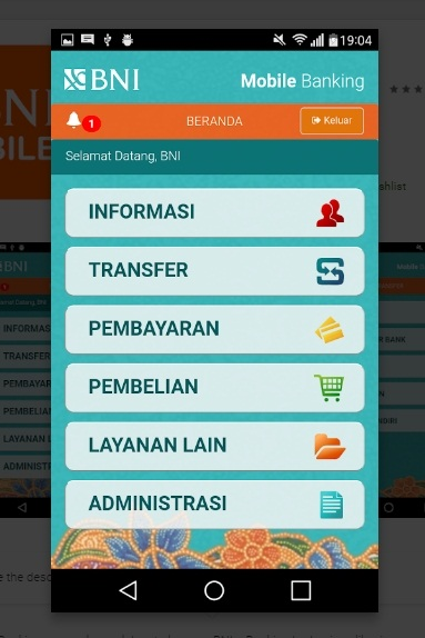 BNI Mobile Banking: Download, Cara Daftar dan Aktivasi BNI M-Banking