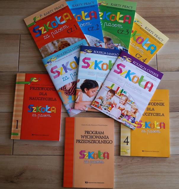 Szkoła za pasem- pakiet książek przygotowujących do szkoły