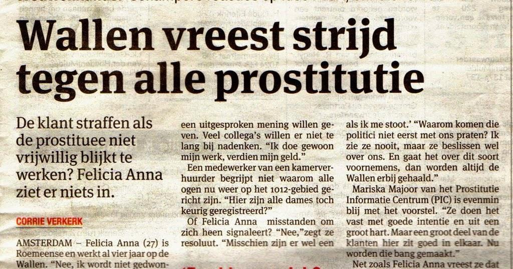 waar kan ik werken als prostituee
