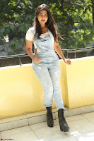 Neha Deshpande in Spicy Denim Jumpsuit and Whtie Crop Top March 2017 100.JPG