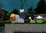Hora de aventura Halloween fun juego