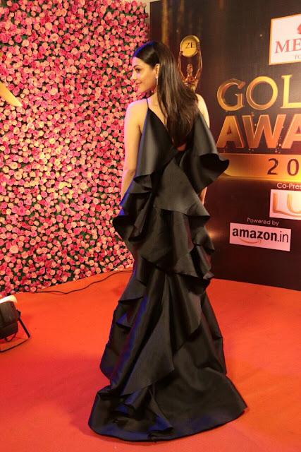Kajal Agarwal Hot Stills at Zee Golden Awards 2017