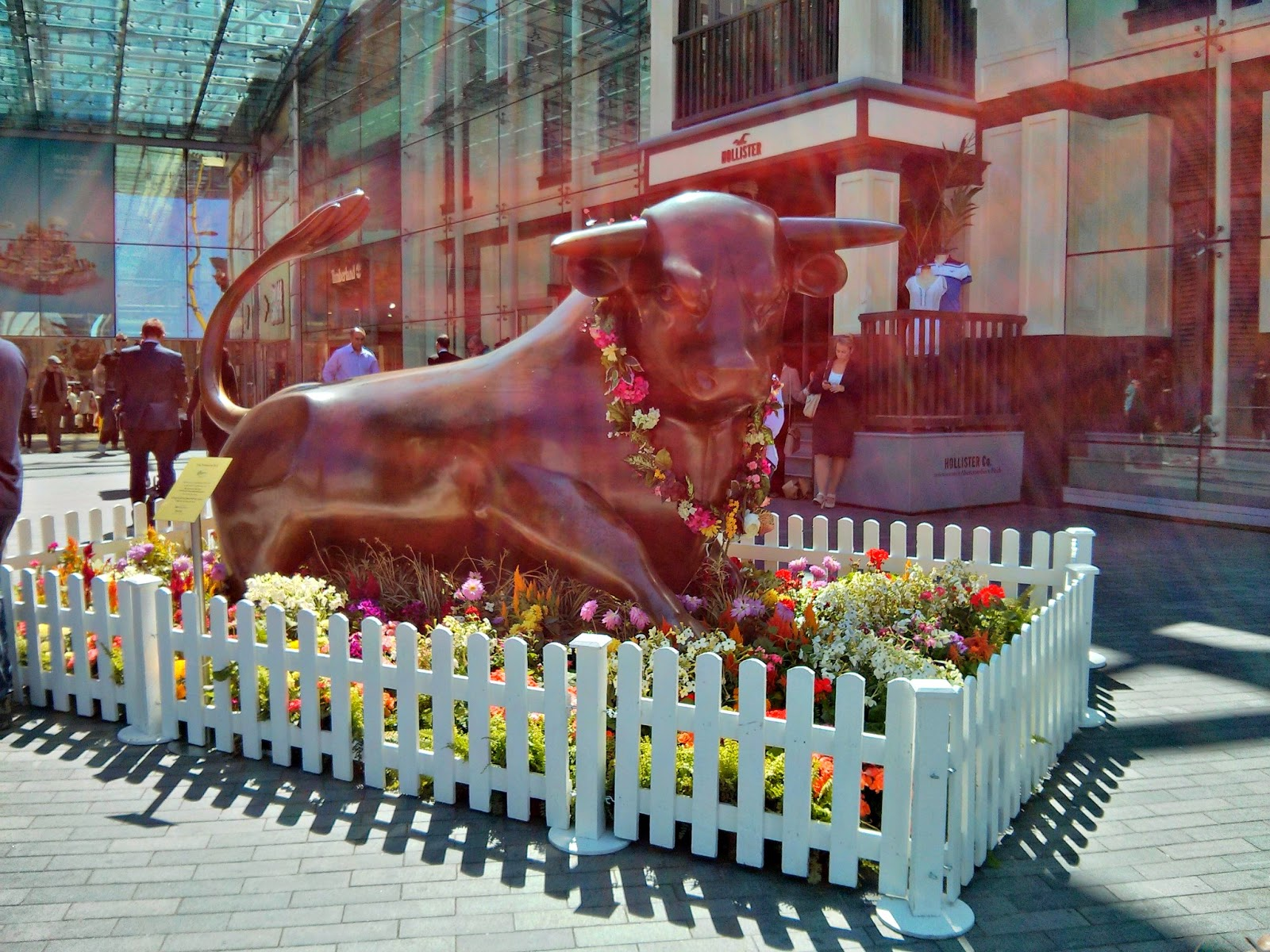 The Bull at the Bullring Fashiob