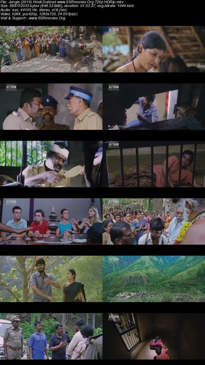 Jungle (2018) Hindi Dubbed 720p HDRip