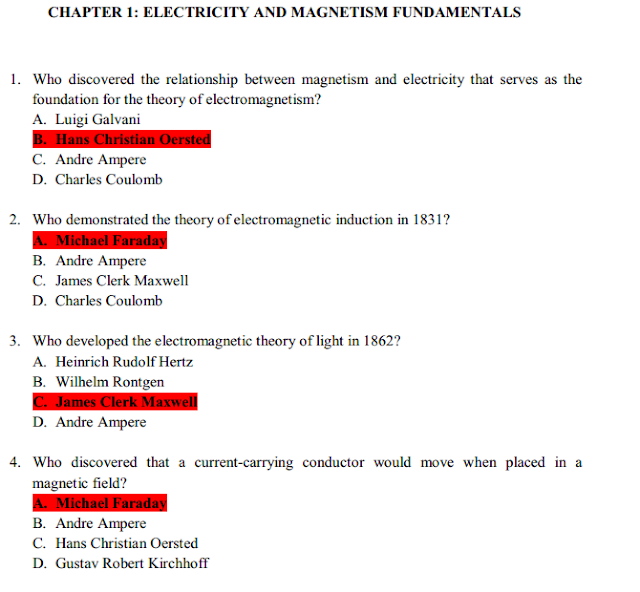 3001 Multiple choice questions in Electronic Engineering