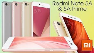 Harga, spesifikasi dan review Xiaomi Redmi Note 5A Prime 2017