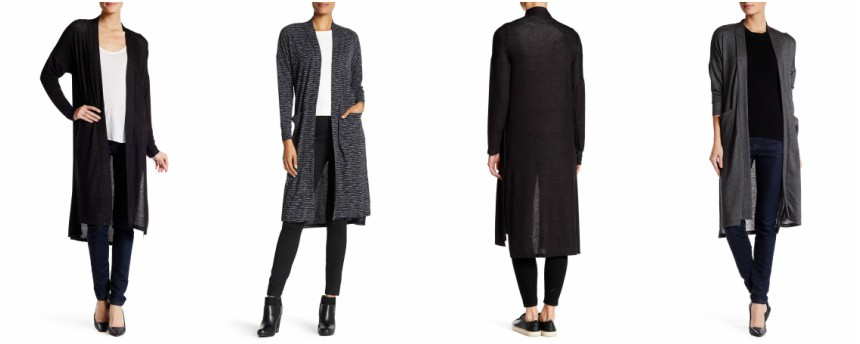 Bobeau Long Sleeve Duster Sweater $20 (reg $68)