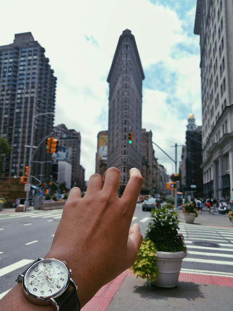 New-York-City-With-Timex-Watches-Flatiron-Building