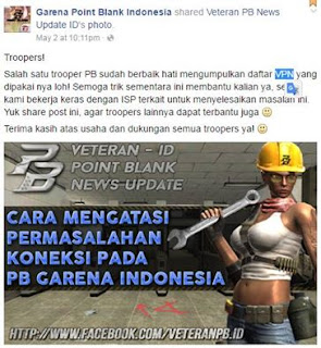 Cara Setting VPN Point Blank Garena Indonesia di Mikrotik