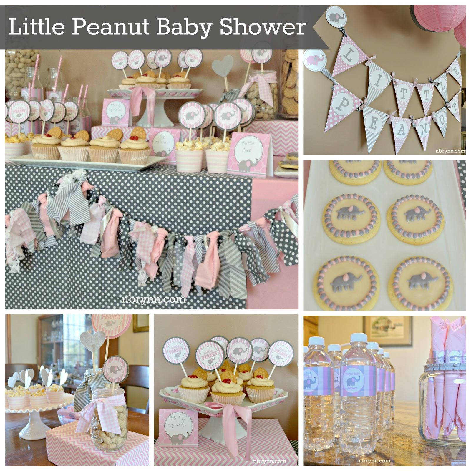 NBrynn: Little Peanut Baby Shower