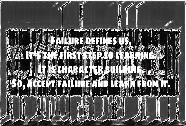 REFLECTION - STEPS  TO FAILURE