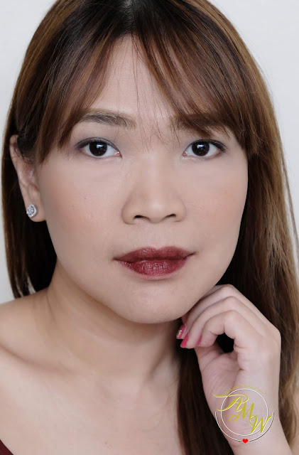 a photo of Lustrous Lip & Cheek Tint in shade Raw Review by Nadine Lustre x BYS