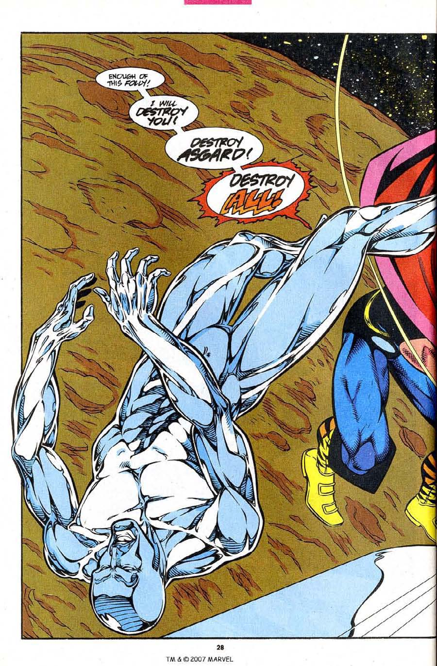 Read online Silver Surfer (1987) comic -  Issue #86 - 30