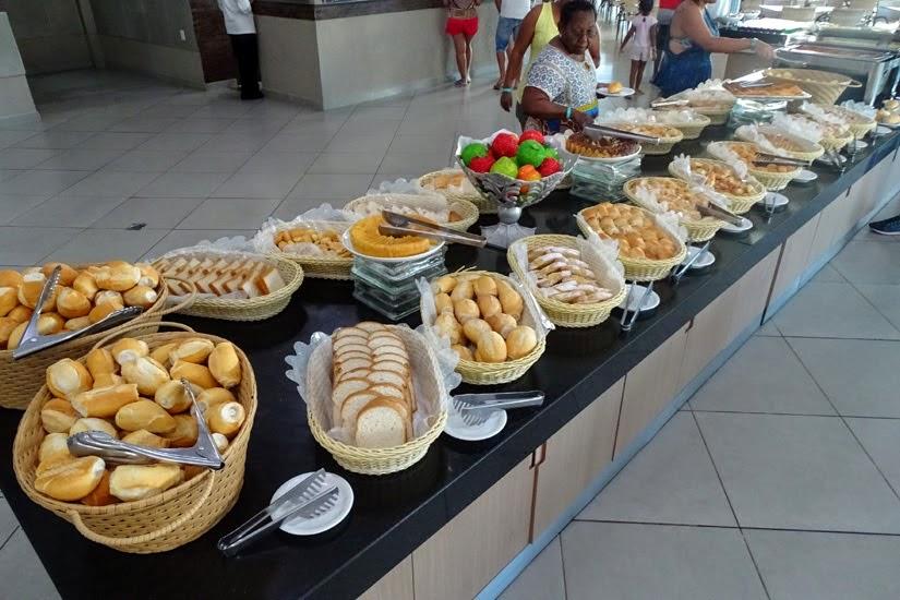 Café da manhã - Onde ficar em Caldas Novas (GO) - Review hotel Privê Riviera Park