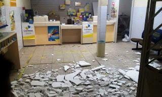 Criminosos deixam São Vicente do Seridó sitiada e fazem 'rapa' nos bancos da cidade