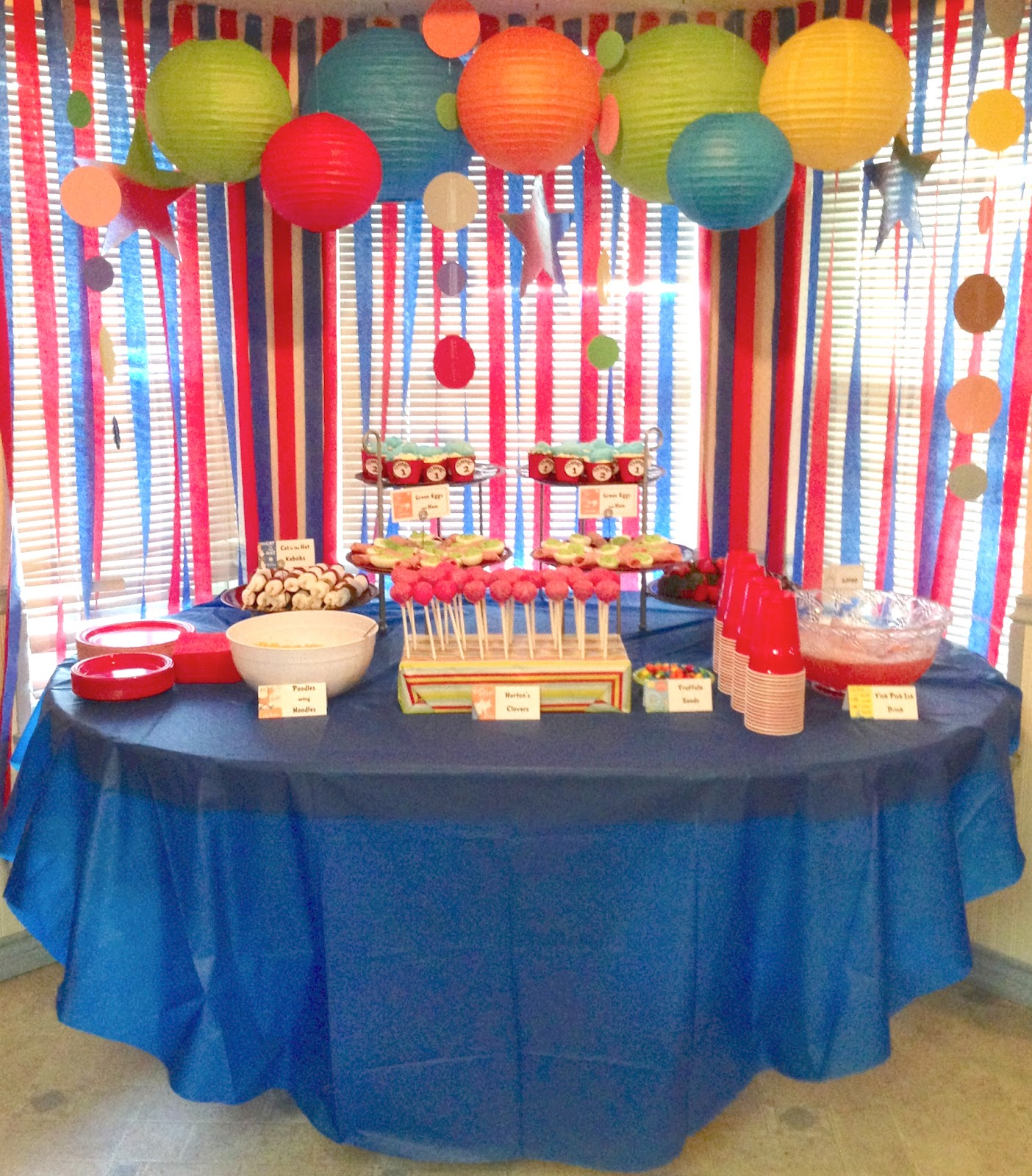 @ home with the Ayres: Dr. Seuss Baby Shower